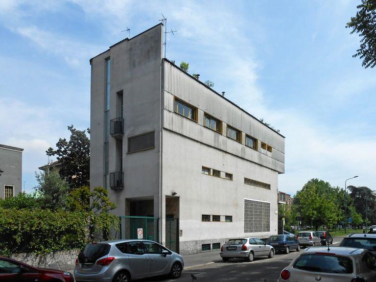 Villa Pestarini - Franco Albini e Milano - itineraries - Ordine degli architetti, P.P.C della provincia di Milano