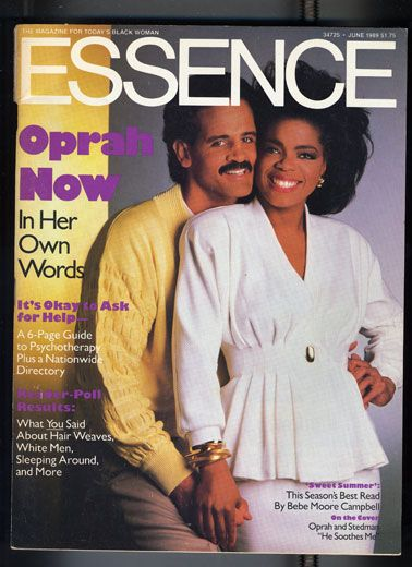 Black Love on ESSENCE Covers Through the Years; Oprah Winfrey and Stedman Graham Oprah Winfrey and her longtime love Stedman Graham graced the cover of ESSENCE together in June 1989. We love everything about this, including the fact that they're still enjoying their version of happily ever after today.