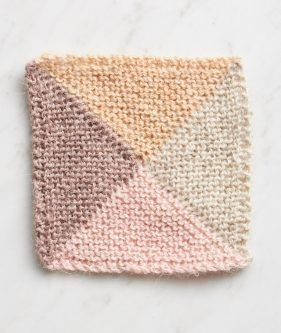 e50ab1cc2 Knit Four Points Baby Blanket in New Colors