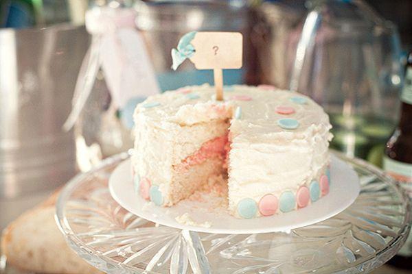 Pastel Fiesta Revelación de Género | Gender Reveal cake