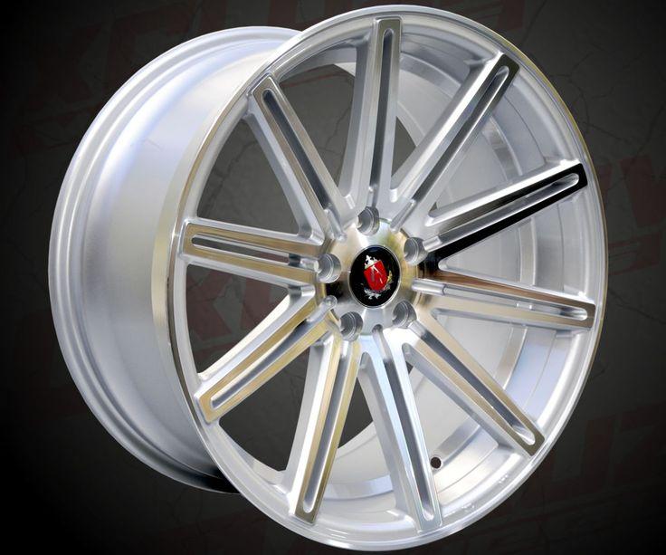 """Modèle : EX15 / Style Tuning / Tailles : 18x8.0"""", 18x9.0"""", 19x8.5"""", 19x9.5"""", 20x9.0"""", 20x10.5"""" / Entraxes : 5x112, 5x120 / Déport : 20, 25, 27, 30, 35, 40 ou 42 / Finition : Silver surfacé. / Compatible pour : Audi, VW, BMW, Mercedes..."""