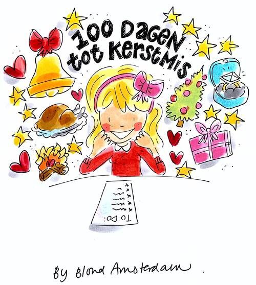 Blond Amsterdam 100 dagen tot kerstmis!