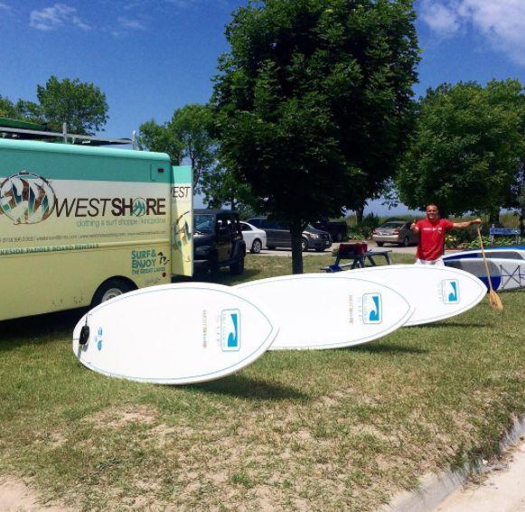 #westshore #kincardine #paddleboard #SUP #surf #beach #bluwave #rentals #stationbeach #lakehuron