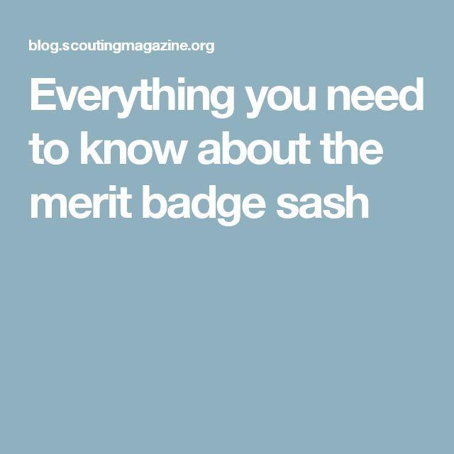Image result for vintage boy scout sash