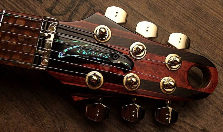 Hand built masterpiece! Zerberus Triton Guitar by Frank Scheucher. Schaller 3D Piezo bridge + Fisman ISys+ preamp / Zebrawood body. available for sale on Reverb !!!