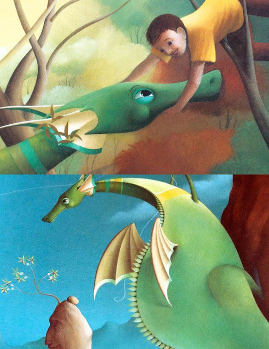 puff the magic dragon illustrations