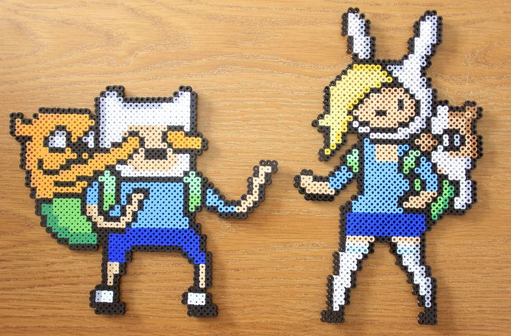 Adventure Time Perler beads by PkmnMasterTash on deviantART