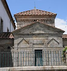Pre-Romanesque art and architecture - Saint Frutuoso Chapel in Braga, Portugal.