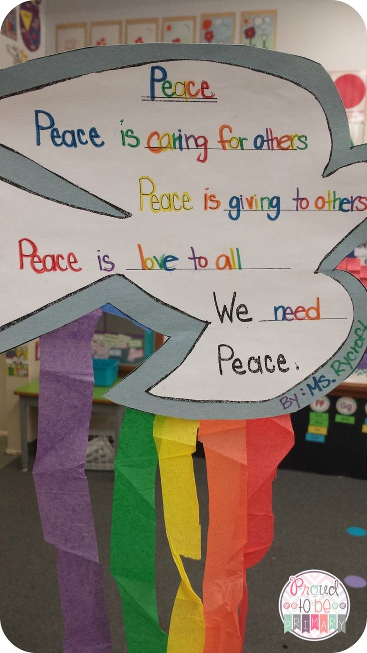 Peace And Remembering {Remembrance Day Activities} by Proud to be Primary. Includes activities to teach peace and poppy art activities. There is a freebie included!