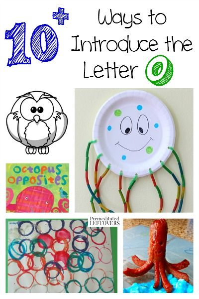 There are so many fun ways to teach the alphabet! Here are some printables, crafts, recipes and more ways to introduce the letter O to your child.