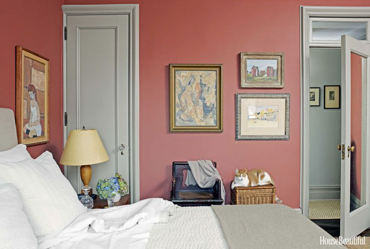 Alexander Doherty Apartment Design - Farrow and Ball Paint Colors - House Beautiful