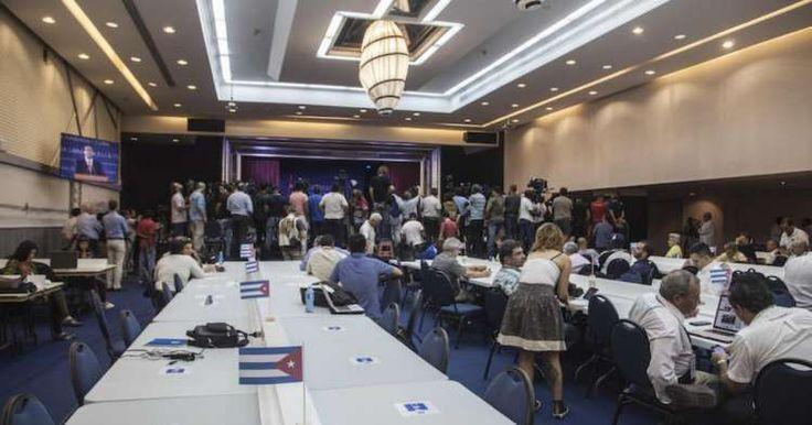 Ubicada en el Habana Libre la sala de prensa para visita de Obama – CiberCuba – Adribosch's Blog