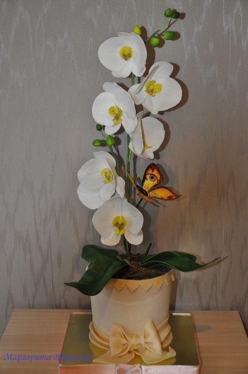 Торт с Орхидеями!!!