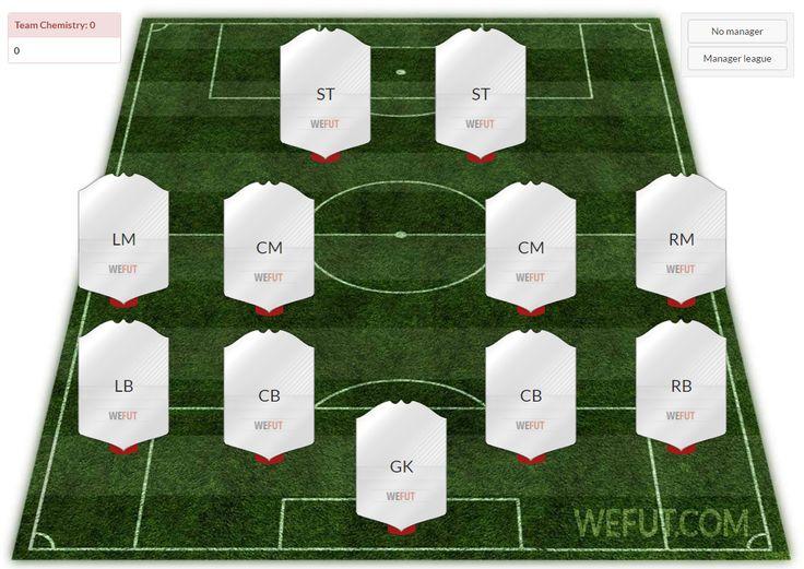 Fifa 17 Squad Builder