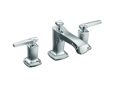Margaux Basin Set with Lever Handles    Features:    Metal construction  ¼ turn ceramic disc valves  Suitable for mains pressure  KOHLER finishes resist tarnishing and corrosion