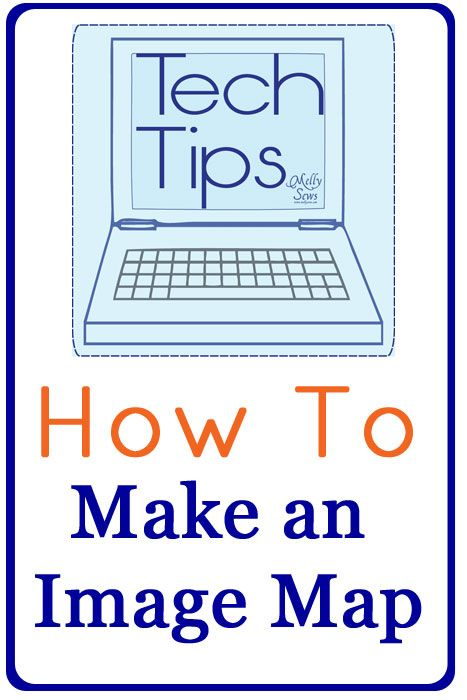 How to Make Image Map: a Tech Tip Tutorial by Melly Sews