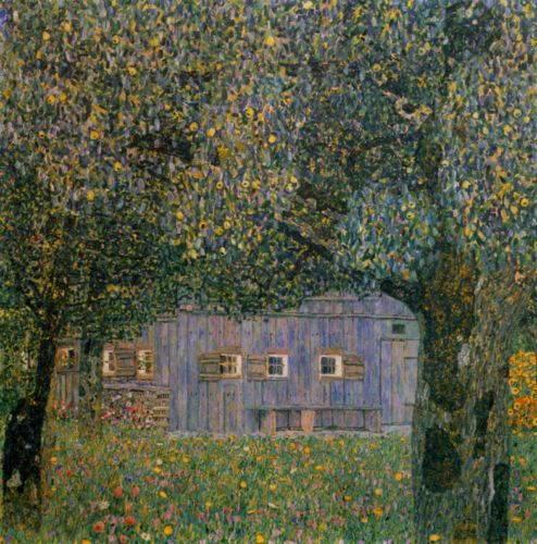Gustav Klimt  Farmhouse in Upper Austria