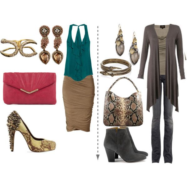 SA SD by skugge on Polyvore featuring Haute Hippie, Vivienne Westwood Anglomania, Donna Karan, Goldsign, Sam Edelman, River Island, Alexis Bittar and Lanvin