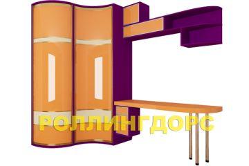 Оранжевый шкаф для детской комнаты! Роллингдорс всегда на шаг впереди!!!