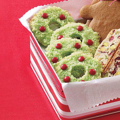 Easy Christmas Cookies: Coconut Christmas Cookies < Christmas Cookie Recipes - AllYou.com