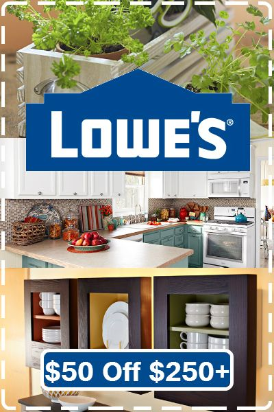 It's back! $50 off orders $250+ at Lowes.com! Use coupon code: http://www.dealsplus.com/lowes-coupons?code=2389183