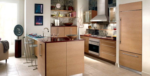 integrated appliances are pleasing to the eye