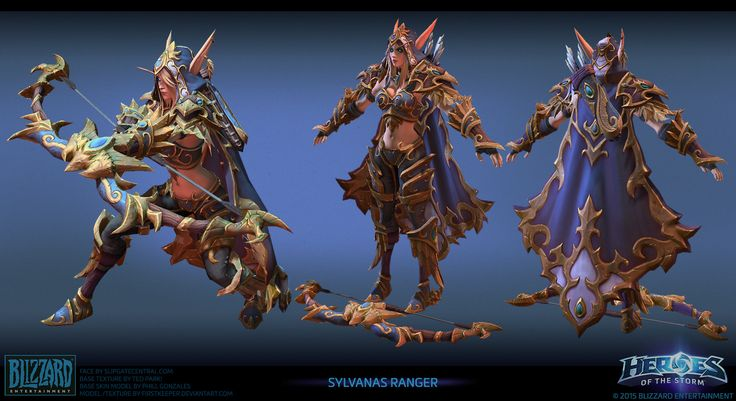 Sylvanas ranger Heroes of the Storm by FirstKeeper on DeviantArt