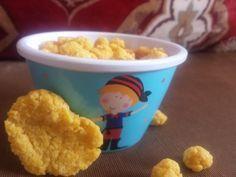 Easy homemade baby puff snacks
