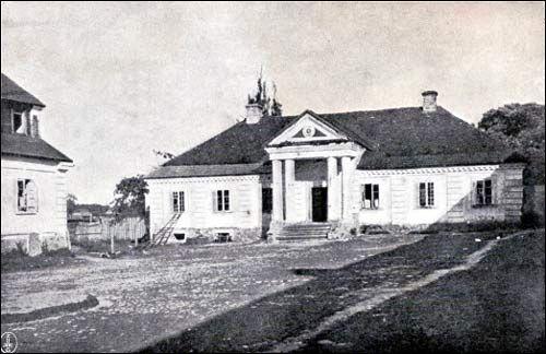 Kosów.  Dwór Sapiehów, przed 1939 Bialorus