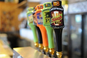TravelWisconsin.com Article - Wisconsin Brewery Tour - Lakefront, Potosi, New Glarus, Minhas, Capital, Best Places at Pabst Brewery, Sprecher, Leinenkugel, MillerCoors, Stevens Point