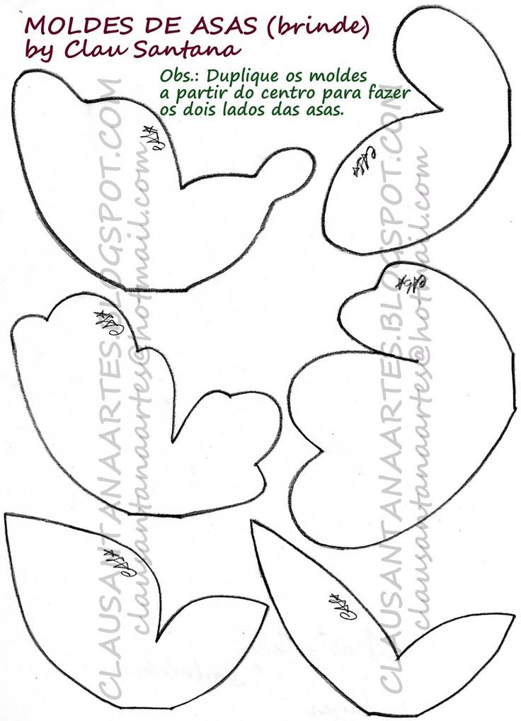 Asas para fadas ou borboletas