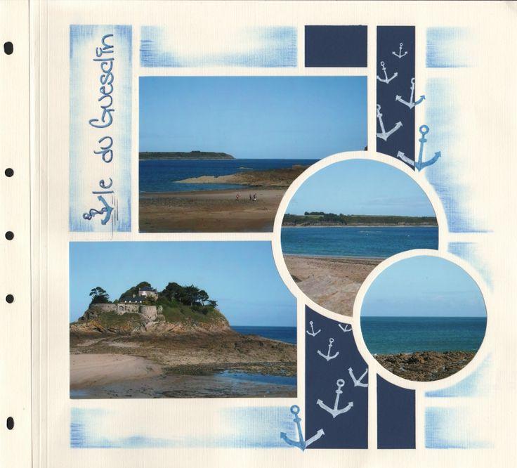 Île du Guesclin | Azza - Leader du scrapbooking
