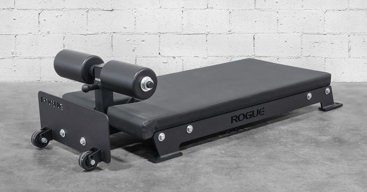 The Rogue Floor Glute is an alternative to traditional GHD machines-giving athletes a convenient way to perform glute ham raises. Get yours at Rogue today!