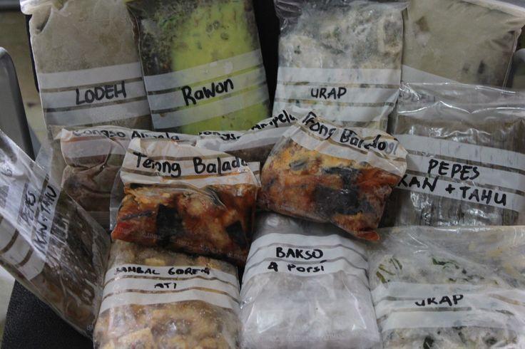 Precooked Frozen Food/Makanan Beku Matang: Bersusah-susah dahulu, bersenang-senang kemudian