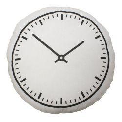 Bloomingville / Polštář Clock 50 cm