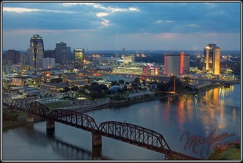 Shreveport, Louisiana we spent the night here!