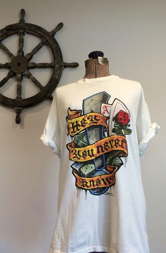 Vintage David Lee Roth Shirt Rock Concert Tee $48