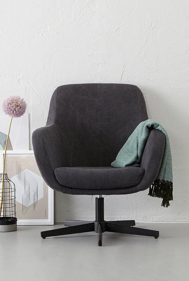 #draaistoel #interieur #grijs #clean #scandinavian #pastels