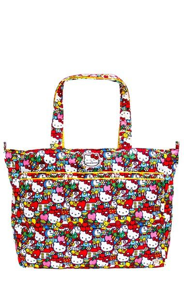 Ju-Ju-Be for Hello Kitty® 'Super Be' Diaper Bag available at #Nordstrom