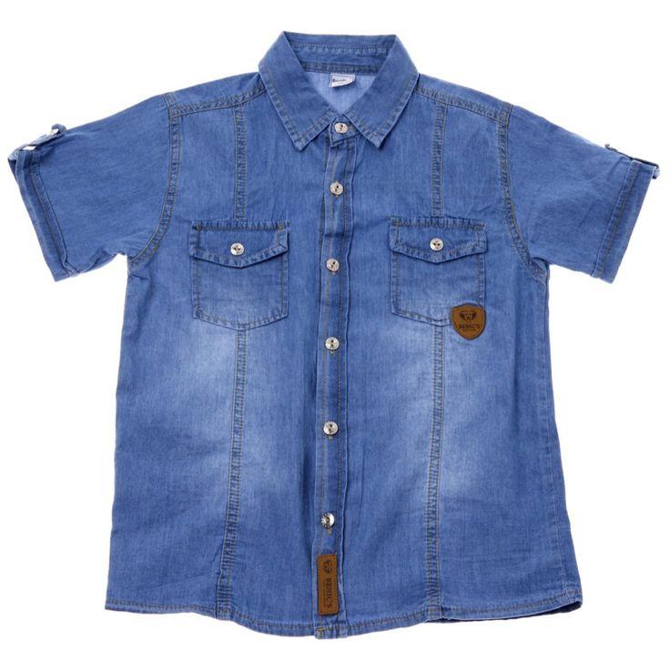 Παιδικά ρούχα AZshop.gr - Benic's παιδικό πουκάμισο «Streets» €11,90