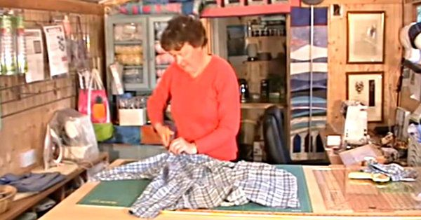 Don't Let Expensive Fabrics Get You Down! Make An Upcycled Shirt Quilt!
