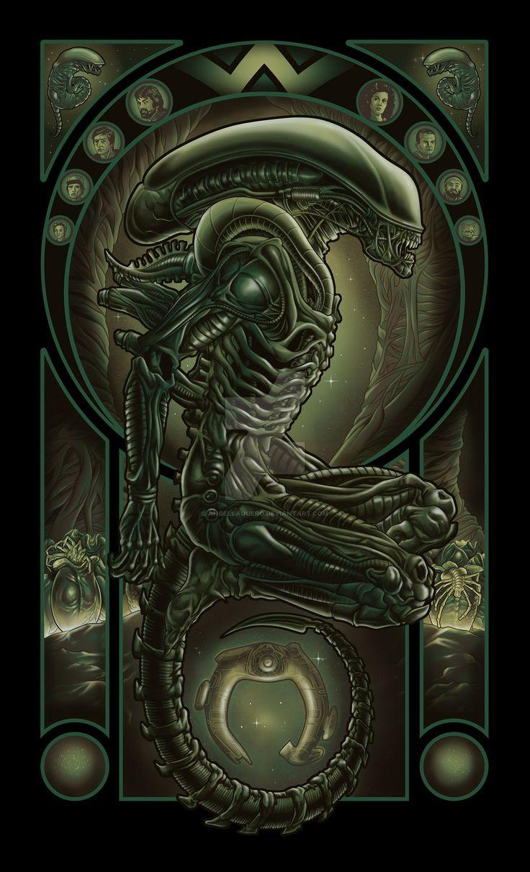 Parasite by angelsaquero.deviantart.com on @DeviantArt
