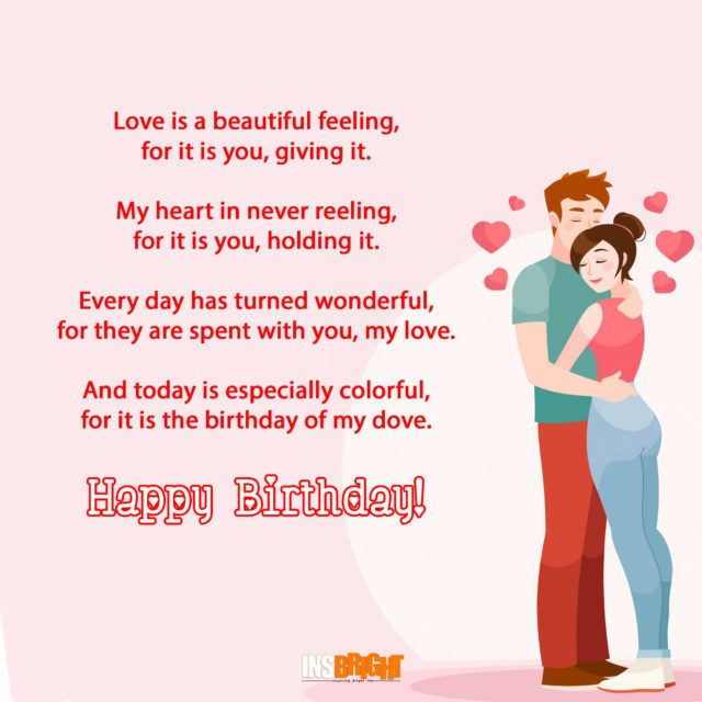 17 Best Ideas About Romantic Birthday Poems On Pinterest