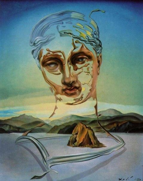 Сальвадор Дали, «Рождение божества», 1960 г.