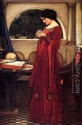 The Crystal Ball 1902 by John William Waterhouse