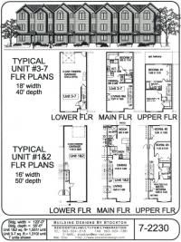 224 best lp condos images on pinterest floor plans for Multi family condo plans