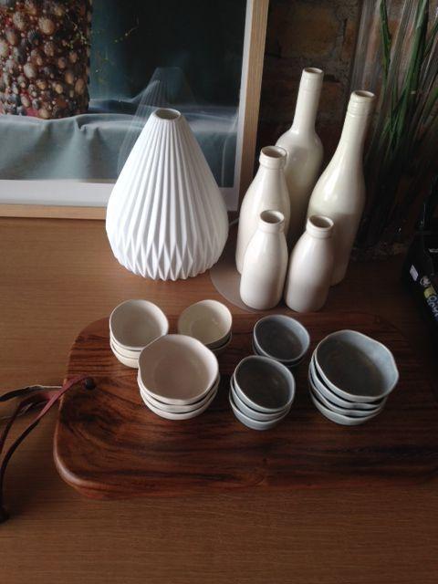 cute little ceramic dip dishes from Steiner Ceramics
