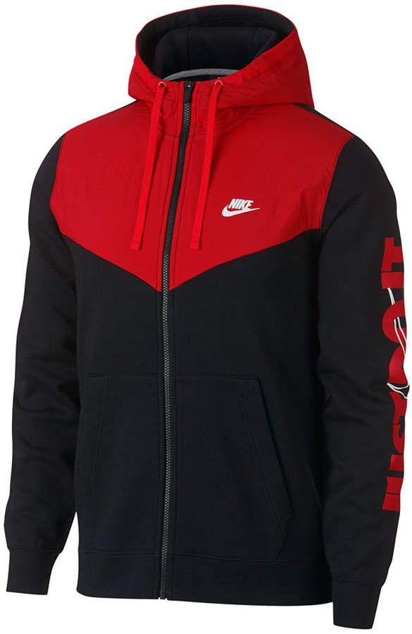 Nike Men Sportswear Just Do It Fleece Zip Hoodie | Sweat à