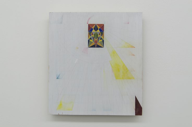 Sarah Chilvers - UNTITLED (BC_SC2016_26), 2014-2016, Gouache on plywood, 33.1 x 30.2 cm