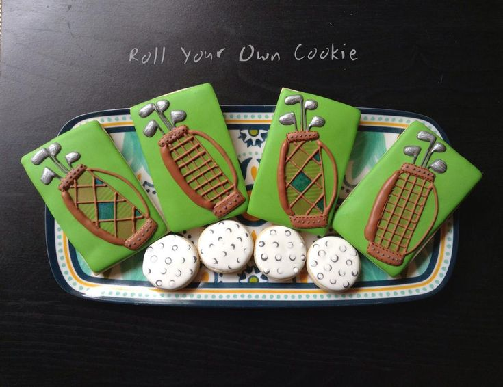 Golf cookies   Cookie Connection